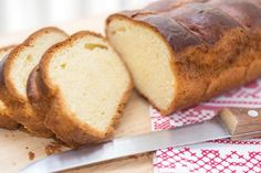 Simple Brioche Loaf (French Bread) Recipe