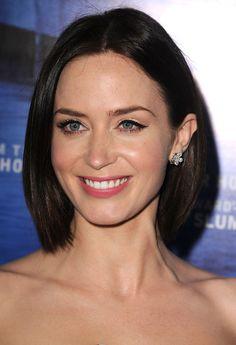Emily Blunt: Emily Blunt revealed a pair of Chopard earrings.