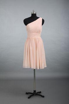 Sexy pink short dress, knee-length prom dresses, halter dress, princess dress