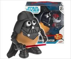 Darth Vader Potato Edition..come to the dark side, we have potato chips:)