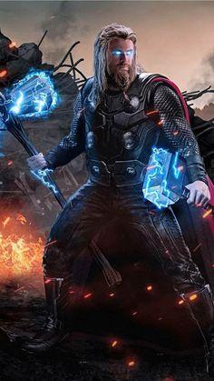 Thor avengers end game Marvel Fanart, Marvel Dc Comics, Marvel Heroes, Marvel Avengers, Marvel Characters, Marvel Movies, Comic Movies, Mundo Marvel, Iron Man Avengers