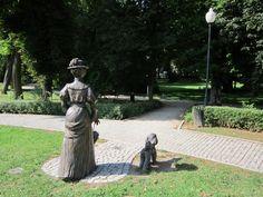 Polanica Zdrój, park, Poland