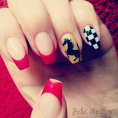 Ferrari nails - nail art