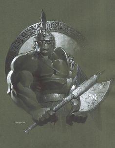 #Hulk #Fan #Art. (Planet Hulk bust) By: Christopher Stevens. (THE * 5 * STÅR * ÅWARD * OF: * AW YEAH, IT'S MAJOR ÅWESOMENESS!!!™)[THANK Ü 4 PINNING!!!<·><]<©>ÅÅÅ+(OB4E)