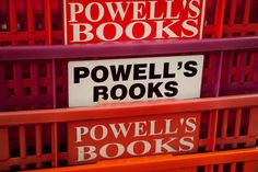 Powell's Book Store: A Portland institution that is huge, with over one million offerings. They say they are the largest in the world! Here you can find any book, both new and used. There is also World Cup Coffee & Tea, where you can read and decide on your purchases. 1005 W. Burnside. #globalphile #travel #tips #destinations #lonelyplanet #vacation #usa #portland #oregon #shopping #books http://globalphile.com/destination/portland-oregon/