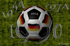 #Fussball #soccer #Weltmeisterschaft #WorldCup #2014 #Lousberg #Maya #3D #Ball #Deutschland #Germany #1954 #1974 #1990
