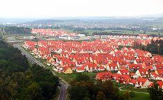 Netzaberg, Grafenwoehr military housing. -Our new neighborhood