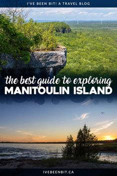 Hiking lookouts good eats great beer beautiful arts & so much more! Check out these amazing things to do on Manitoulin Island you'll adore! Insider tips and travel advice for planning your visit to Manitoulin Island Ontario Canada. Cool Places To Visit, Places To Travel, Places To Go, Travel Destinations, Quebec, Montreal, Vancouver, Toronto, Columbia