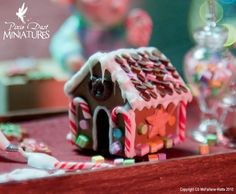Christmas  is just around the corner and the Pixie Dust Elves have been  so busy making tiny miniature Gingerbread Houses  for your dollhous...