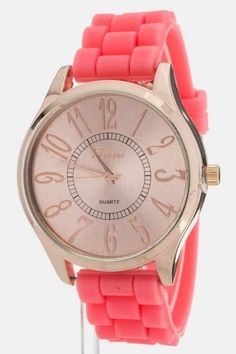 Pastel Watches ! --would prefer the band to be white or a super light pink