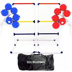 Play Platoon Premium Ladderball Game Set with 6 Ladder Golf Ball Bolas Complete Ladder Toss Game Set ** Check this awesome product by going to the link at the image.Note:It is affiliate link to Amazon.