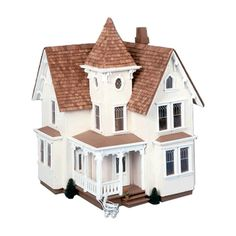 Features:  Product Type: -Dollhouse.  Dollhouse Style: -Cottage.  Color: -Unfinished.  Primary Material: -Wood.  Age Group: -5 to 6 Years/7 to 8 Years/9 to 10 Years/11 to 12 Years/13+ Years.  Collecti