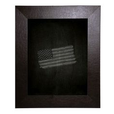 "Brayden Studio Leather Chalkboard Size: 24"" x 30"""