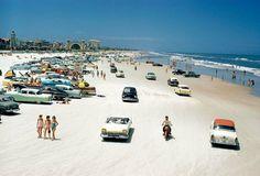 Daytona Beach, Florida, in 1957.