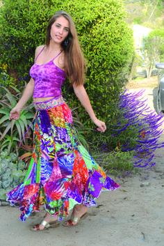 Rayon Patchwork Long Skirt - Jayli Imports, Inc.