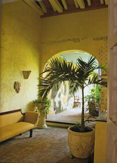 Living to Mesmerize: La casa colonial de Lina Botero en Colombia/Lina Botero´s Colonial house in Colombia