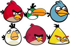 Angry Birds Icons