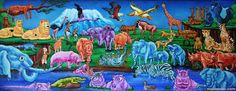 Image result for animal murals