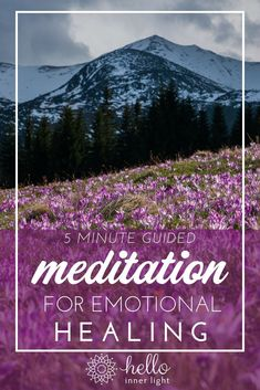 Accepting all of our emotions (even our negative feelings) is the biggest key to emotional healing! This simple guided meditation for emotional healing will quickly help you heal and accept your negative emotions! Meditation Mantra, Meditation For Anxiety, Free Meditation, Meditation Benefits, Meditation For Beginners, Meditation Techniques, Healing Meditation, Meditation Practices, Meditation Music