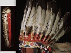 Comanche bonner, mid 19th century Rijksmusm Leiden Holland ac