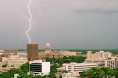 #Lightning over #Austin, #Texas