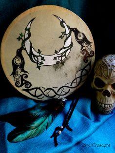 The Morrigan- Ritual Drum