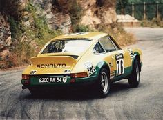 1973 Tour de France #9113601083 SONAUTO Porsche 2.7 Carrera RS (M471) Lightweight