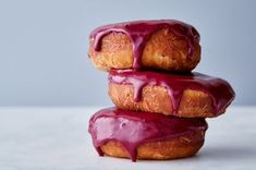 """My go-to glaze starts with a base of fresh fruit, which gives the glaze incredible color and flavor. It's perfect for glazing everything from cream puffs to cookies to layer cakes—and makes killer drips (see my full article on Drip Consistencies, below). Recipe from my book, <em>The Fearless Baker</em>, available October 24th, 2017. Featured in: <a href=""""https://food52.com/blog/20661"""">Drip Consistencies 101</a>."""