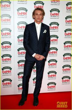 Jamie Campbell Bower Brings Model Matilda Lowther to Jameson Empire Awards 2014