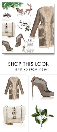 """The Snooty Reindeer..."" by desert-belle ❤ liked on Polyvore featuring Tomas Maier, Alaïa, Valentino, valentino and tomasmaier"