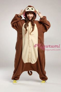 Image of: Kawaii Animal Adult Onesie Baboon Kigurumi Pajamas The Baboon Onesie Can Be Used For Animal Costumes Pinterest 70 Best Animal Onesies Images Babies Clothes Baby Overalls Jumpsuits