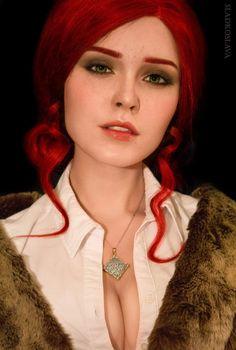 f npc Cosplay Triss Merigold portrait Triss Cosplay, Triss Merigold Cosplay, Witcher Triss, Ciri, The Witcher 3, Lady Maria, John Rick, Cosplay Characters, Redhead Characters