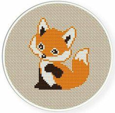 cross stich fox