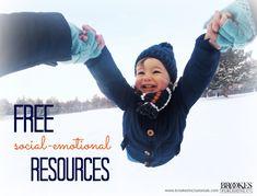 10 FREE Social-Emotional Resources! | behavior, development, social skills, early education, teachers, parents