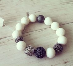 No.6 / Jewelry Bracelet Accessory Fashion Design DIY Handmade Crafts 팔찌 쥬얼리 연예인팔찌 핸드메이드 원석쥬얼리