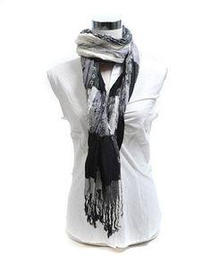 Stars & Plaid 100% Viscose Fringed Scarf, Black & White boxed-gifts, http://www.amazon.com/dp/B004CLEBMG/ref=cm_sw_r_pi_dp_7mJTqb16C0XDD