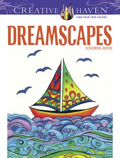 Dreamscapes design coloring book