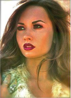Demi Lovato,normal mas linderrimamente linderrima como sempre!