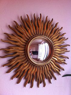 1000 images about miroirs oeil de sorci res on pinterest for Miroir soleil deco