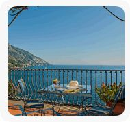 Hotel Miramare Positano - and birthday breakfast too :)