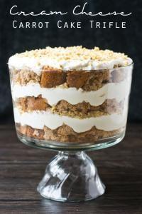 Cream Cheese Carrot Cake Trifle on MyRecipeMagic.com . This dessert is simple, but amazing!