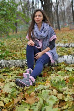 """Купить женский жилет """"Мадрид"""" - разноцветный, жилет, вязание на заказ, вязание спицами, вязание"""