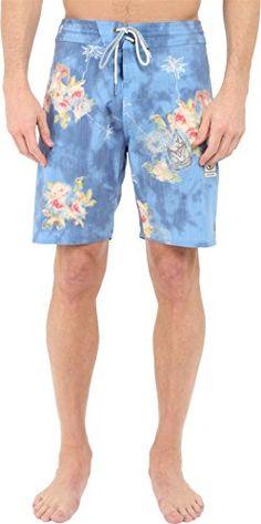 Volcom Mens LouWow Slinger 18 Boardshorts Royal Board Shorts 34 *** Click the swimwear for detailed description