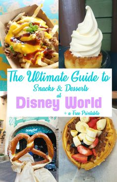 Check out this ultimate guide for snacking around Disney World! via @CleverPirate