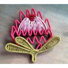 scooby wire protea broach.  BelAfrique - your personal travel planner - www.BelAfrique.com