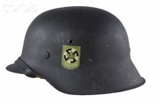 German Helmet with insignia of Freikorps Sauerland: Pith Helmet, Army Helmet, German Helmet, German Uniforms, German Army, Military History, World War Two, Wwii, Weapons