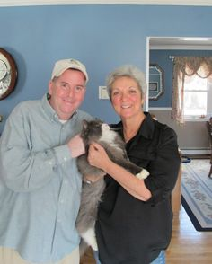 Comeback kitty: Lost cat is reunited with owner 3 years later