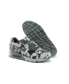 save off bb0aa ec717 Nike Air Max 90 Mens Hyp Kpu Tpu New Dark Green Grey Trainer Nike Sneakers,