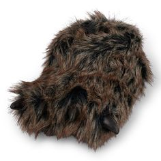 The Children's Place Furry Bear Claw Slipper
