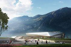HSL station in Susa (Italy) by Kengo Kuma - architectenweb.nl